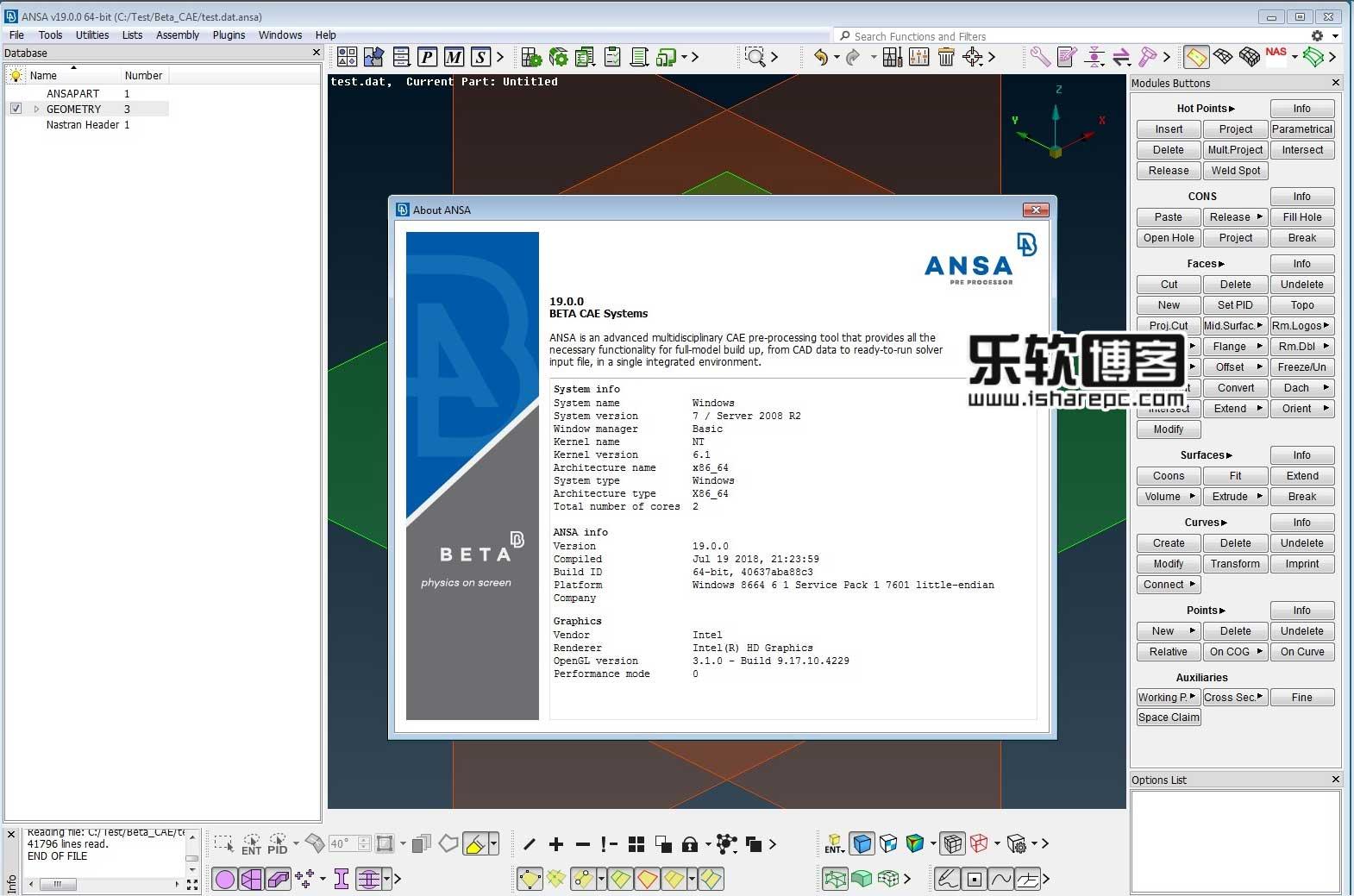 BETA-CAE Systems 19.0.0破解版