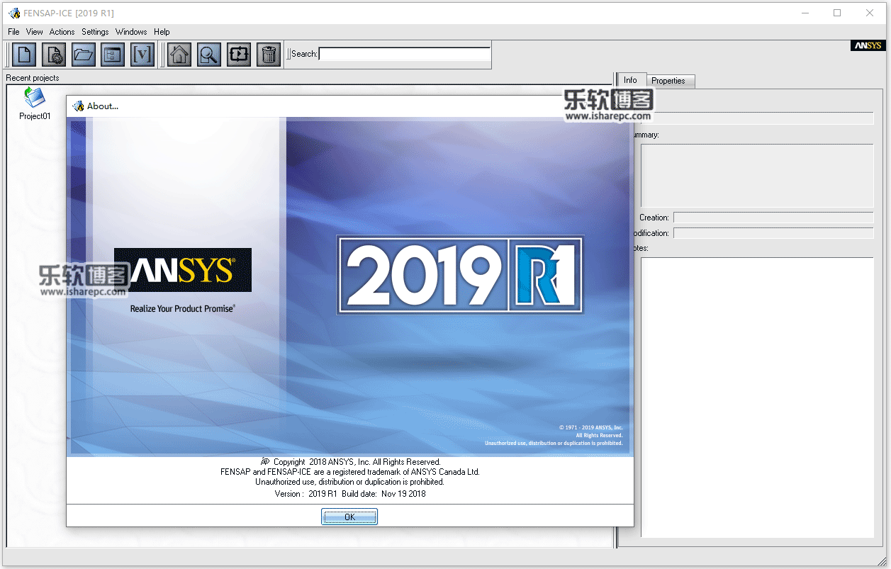 ANSYS Products 2019 R1破解版