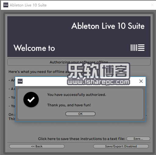 Ableton Live Suite 10激活