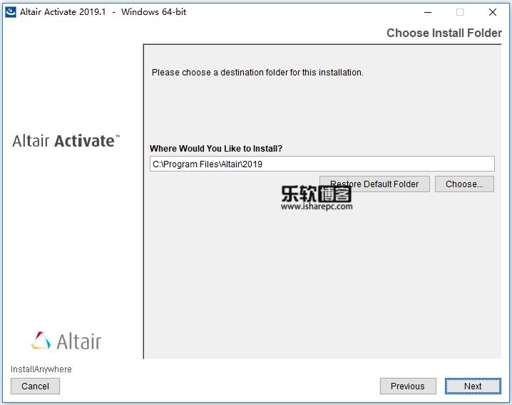 Altair Activate 2019.1