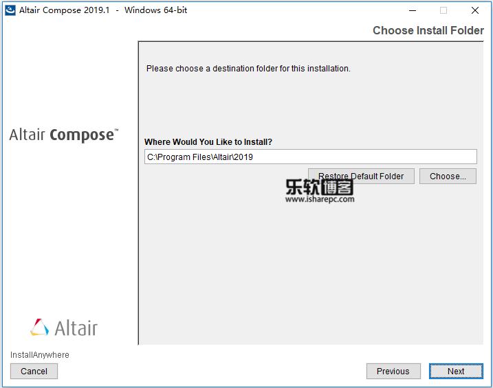 Altair Compose 2019.1