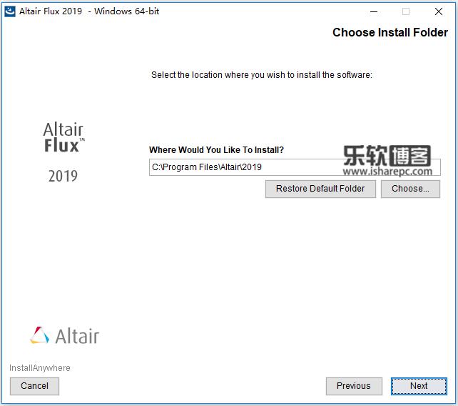 Altair Flux 2019.0.0.1515