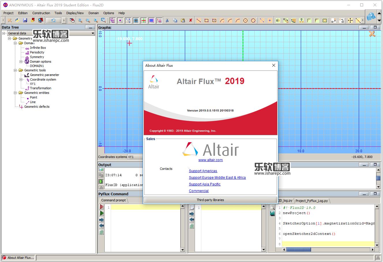Altair Flux 2019.0.0.1515破解版