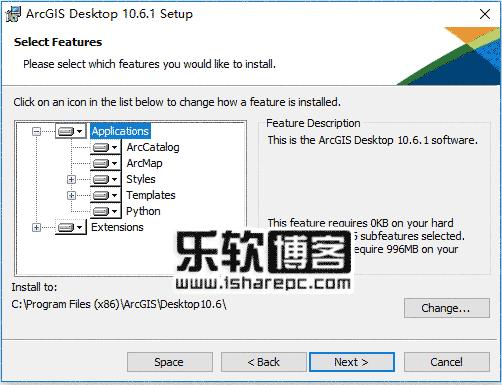 ArcGIS Desktop 10.6.1破解安装