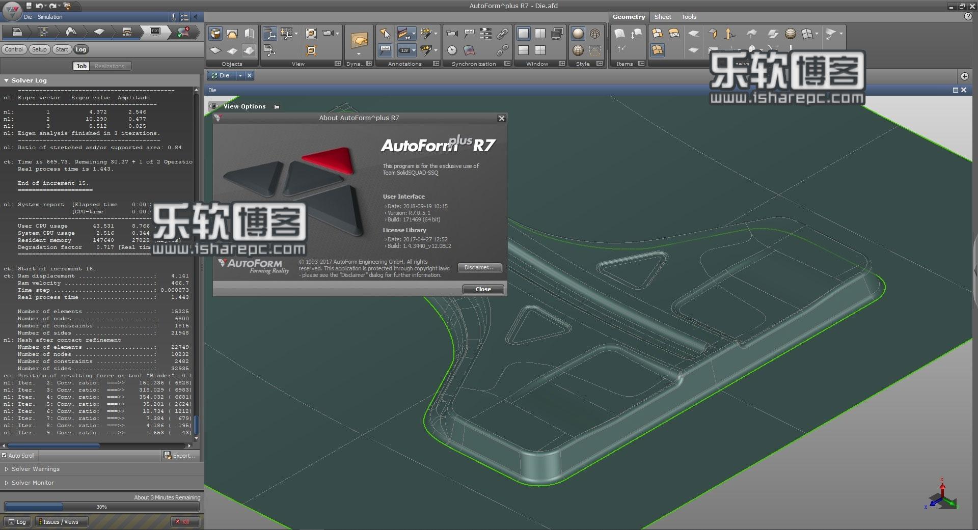 AutoForm Plus R7.0.5.1破解版