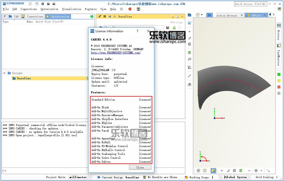 CAESES 4.4破解版