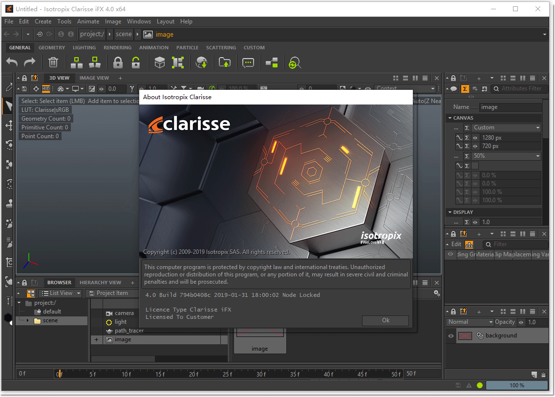 Isotropix Clarisse iFX 4.0破解版