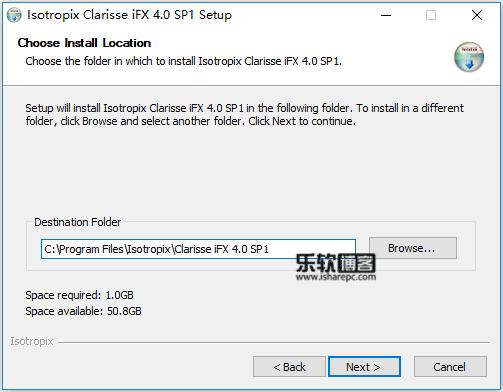 Isotropix Clarisse iFX 4.0 SP1安装