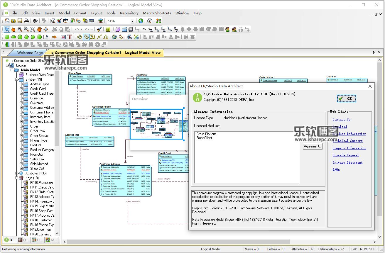ER / Studio Data Architect 17.1.0破解版