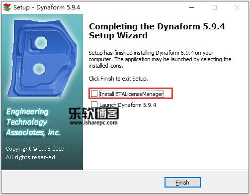 ETA Dynaform 5.9.4