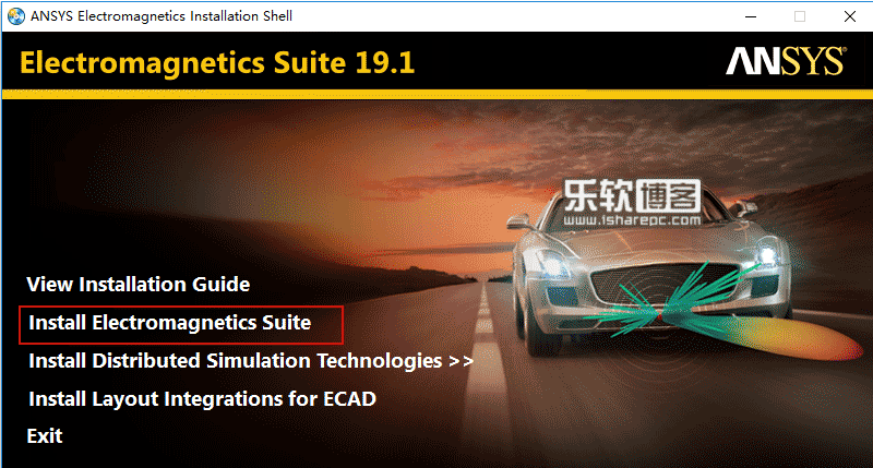 ANSYS Electronics Suite 19.1安装
