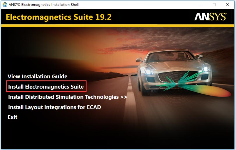 ANSYS Electronics Suite 19.2破解安装