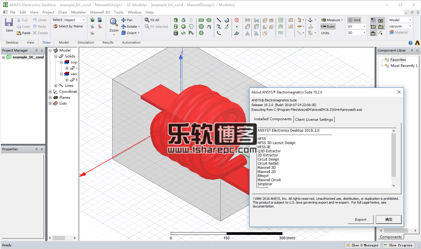 ANSYS Electronics Suite 19.2破解版