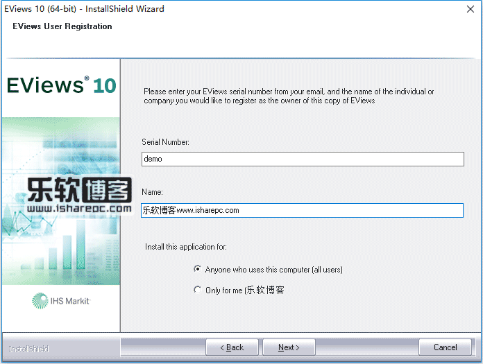 EViews Enterprise Edition10.0安装