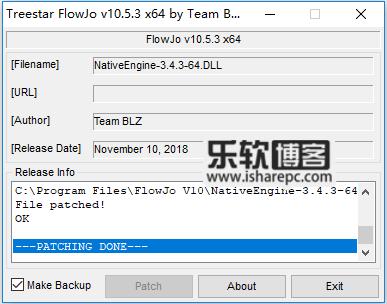 Treestar FlowJo 10.5.3补丁