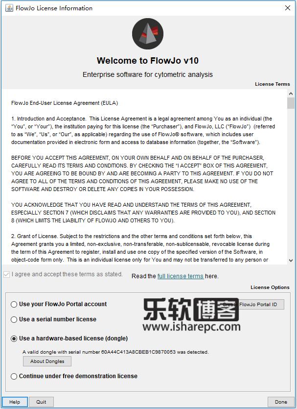 Treestar FlowJo 10.5.3破解