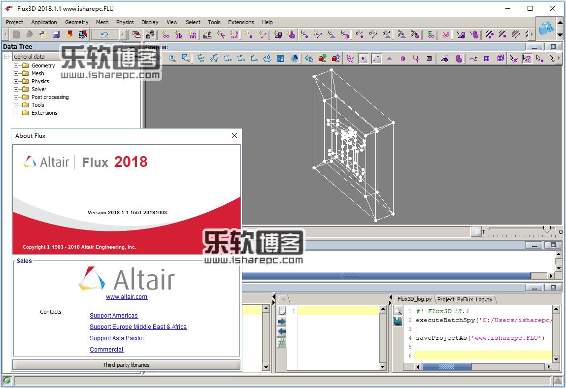Altair Flux 2018.1.1