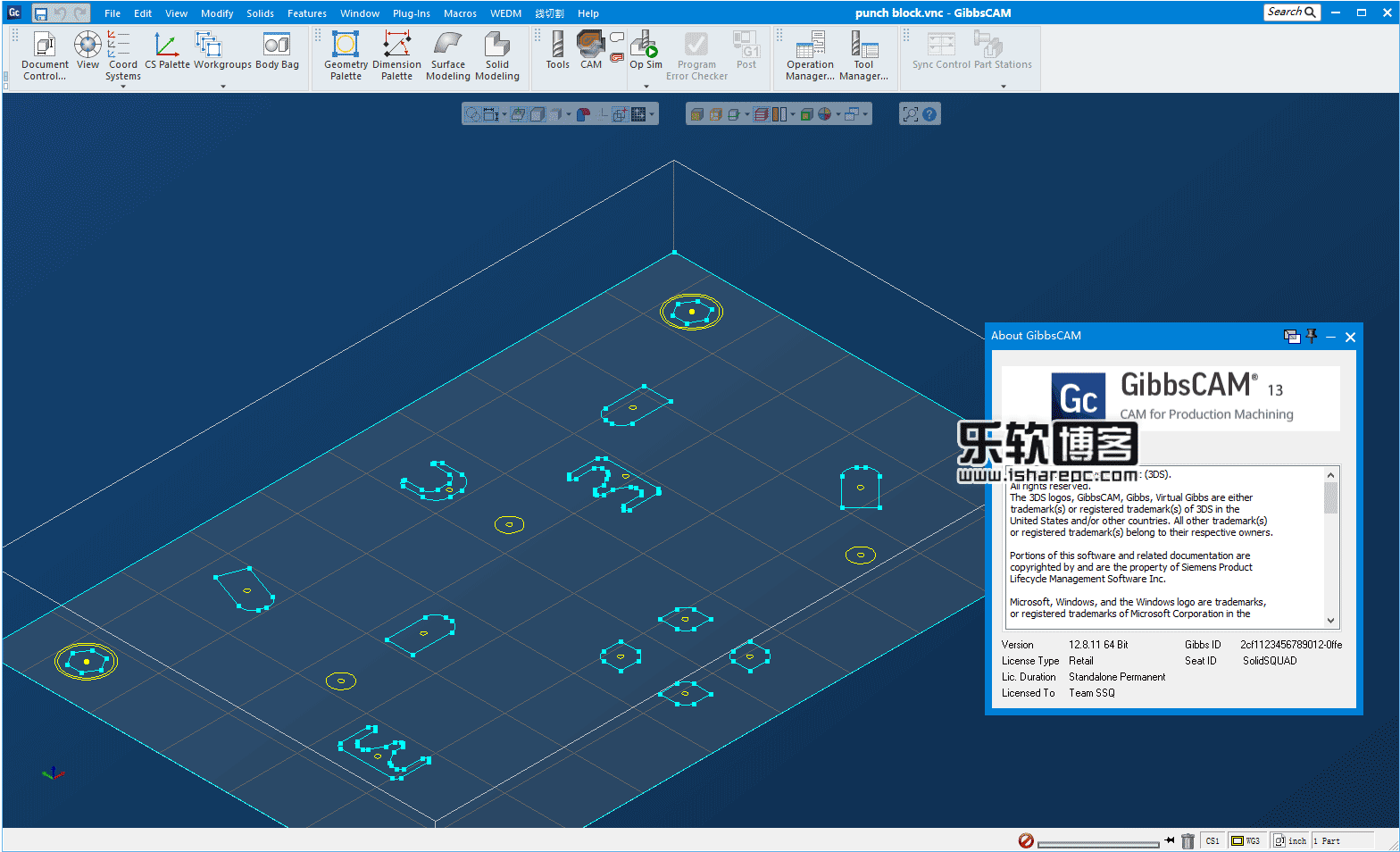 GibbsCAM 2018 v13 Build 12.8.11.0破解版