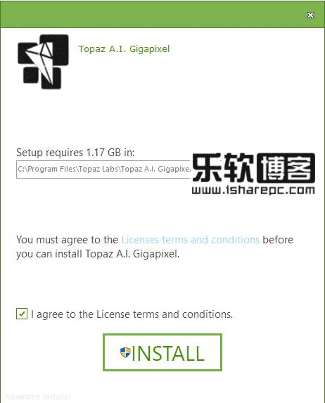 Topaz A.I. Gigapixel 1.1.1破解安装