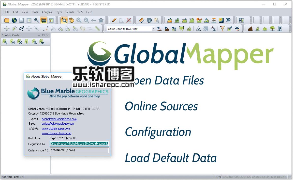 Global Mapper V20破解版