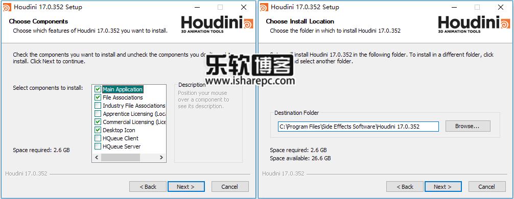SideFX Houdini FX 17.0.352安装