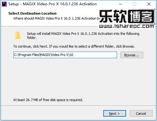 MAGIX Video Pro X 10安装激活