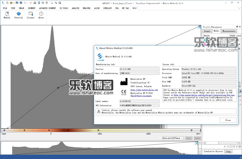 Mimics Medical 21.0破解版