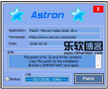 Movavi Video Suite 18.0破解