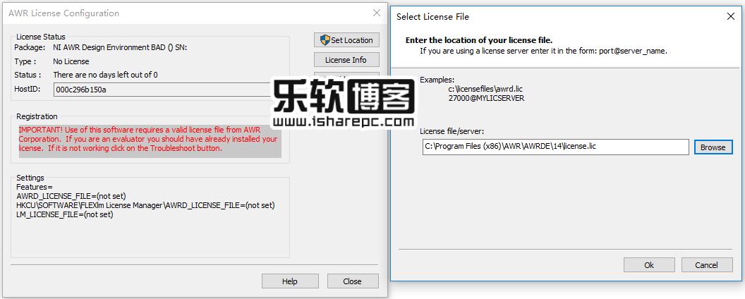 NI AWR Design Environment 14.0r安装破解
