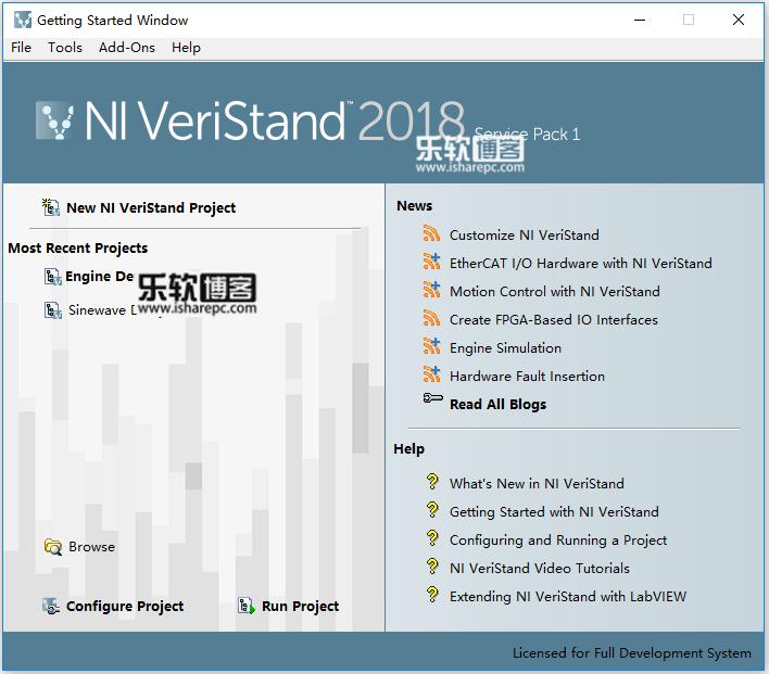 NI VeriStand 2018 SP1破解版