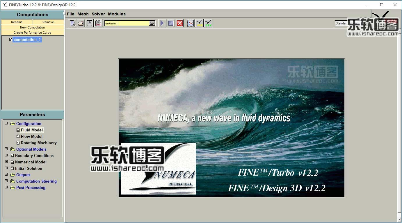 NUMECA FINE Turbo 12.2破解版