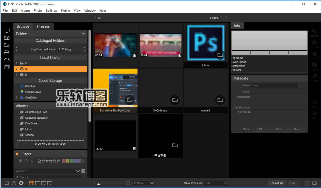 ON1 Photo RAW 2018.5 v12.5.0.5531破解版