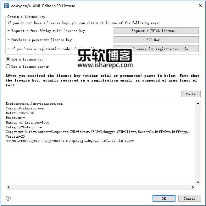 Oxygen XML Editor 20.1激活