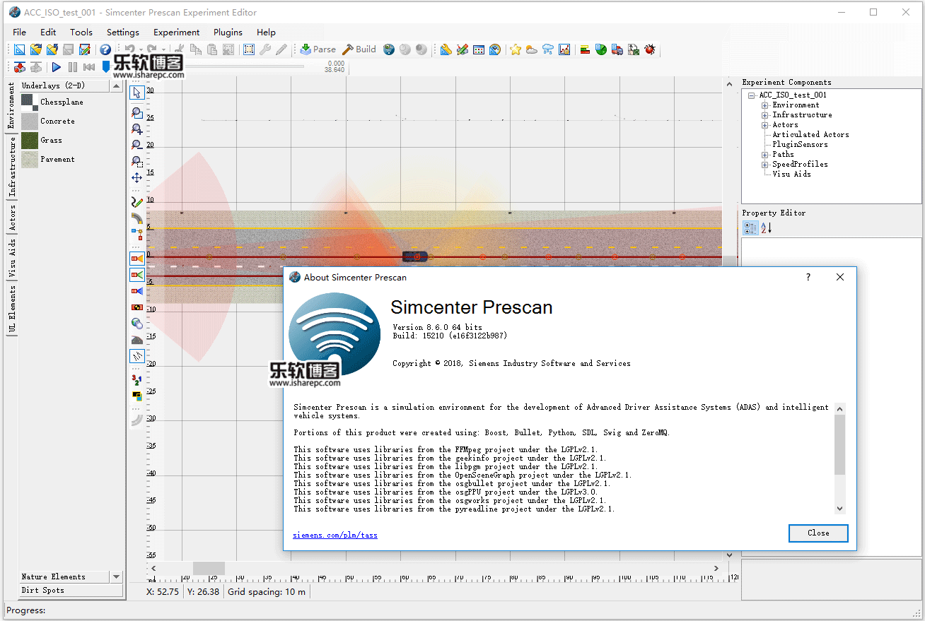 Siemens Simcenter PreSCAN 8.6.0破解版