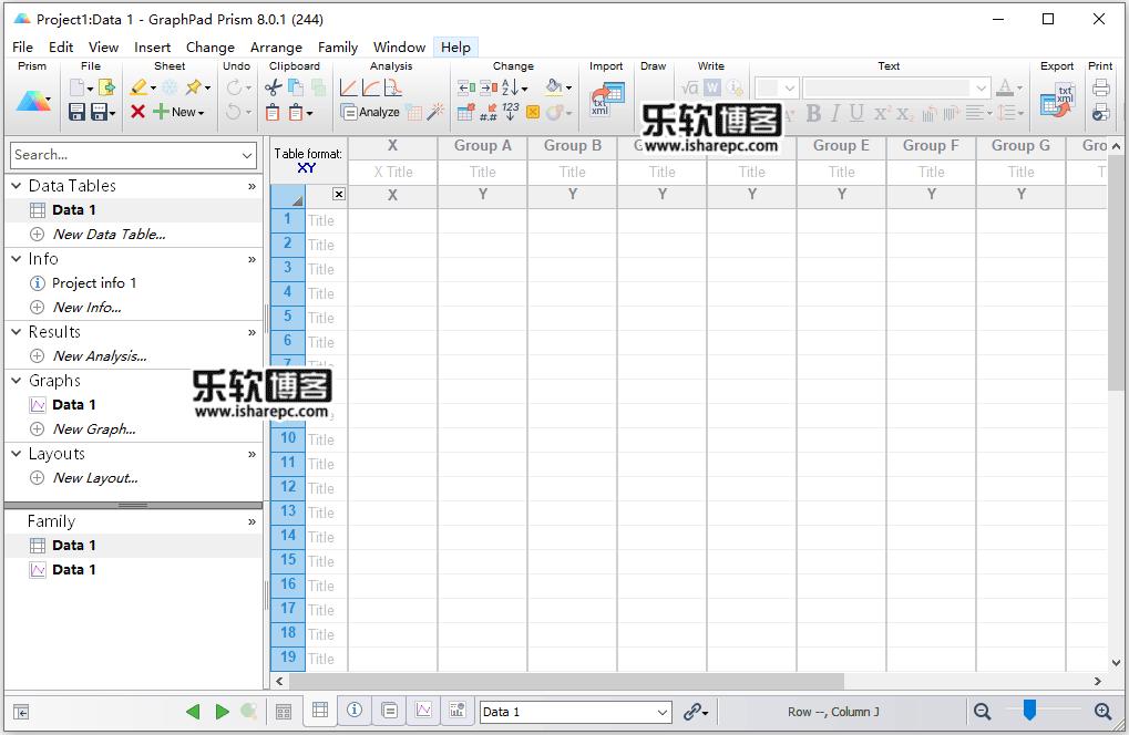 GraphPad Prism 8.0.1破解版