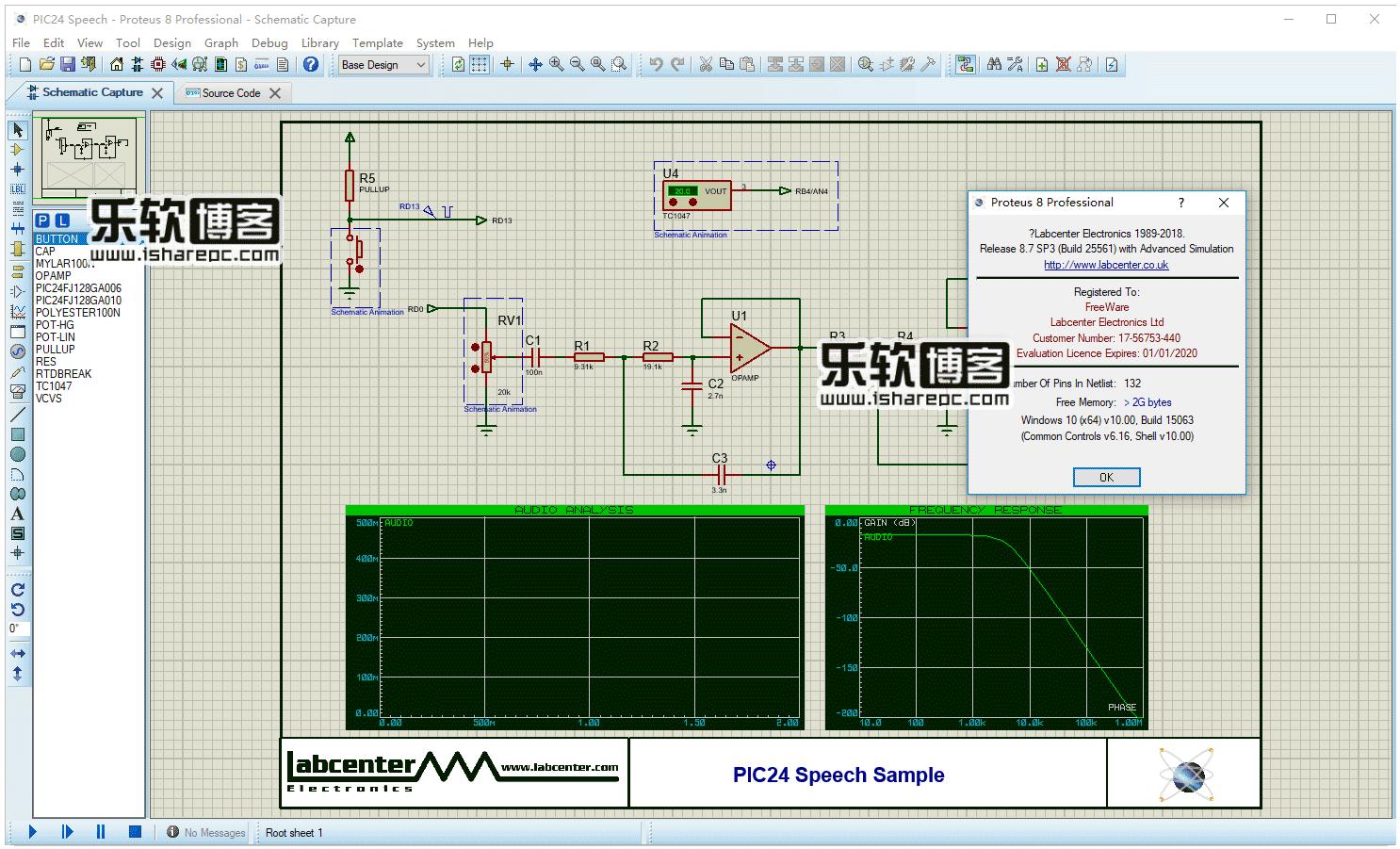 Proteus Professional 8.7 SP3破解版