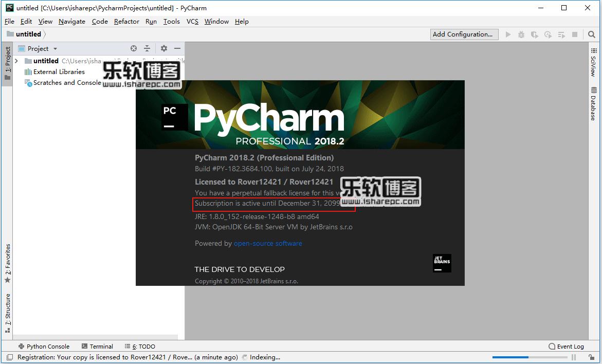JetBrains PyCharm Pro 2018.2破解版