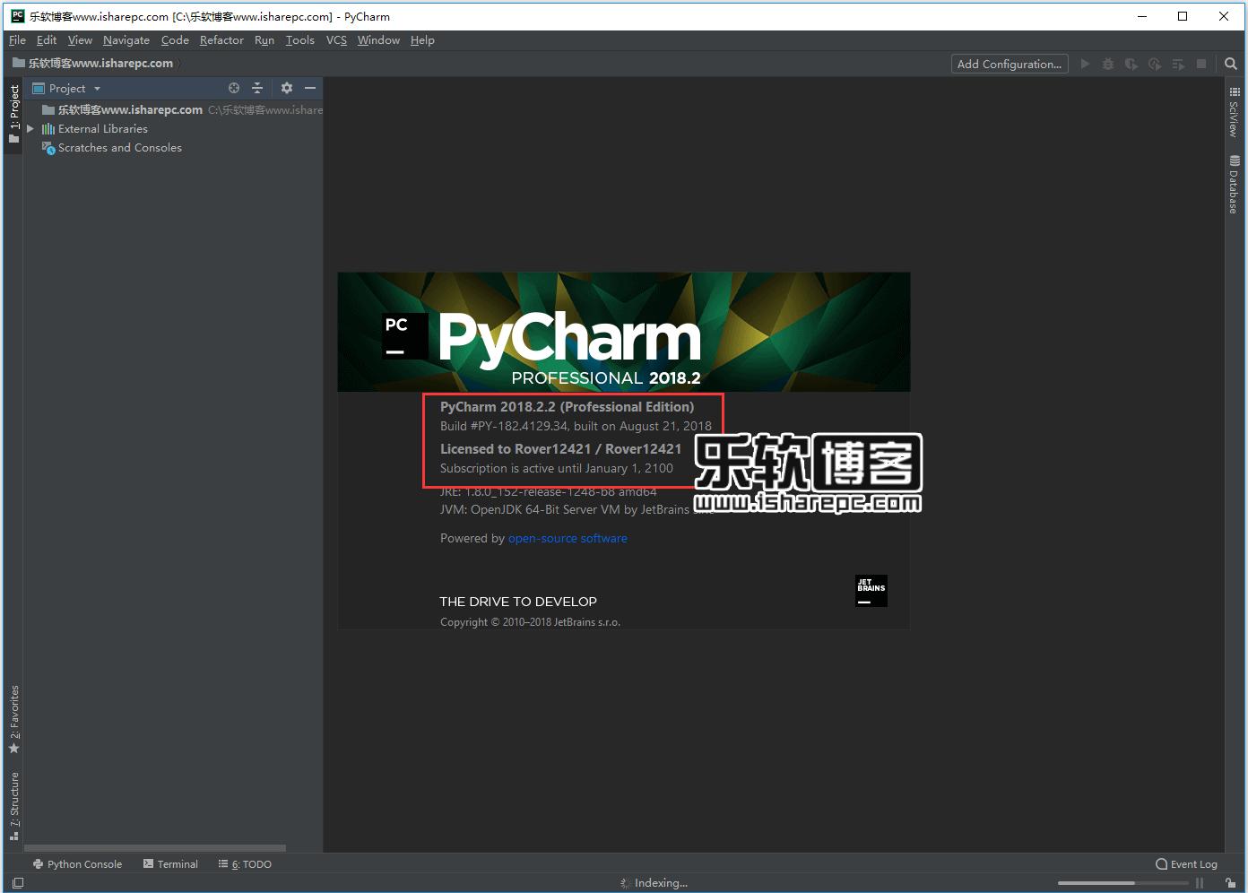 JetBrains PyCharm Pro 2018.2.2破解版