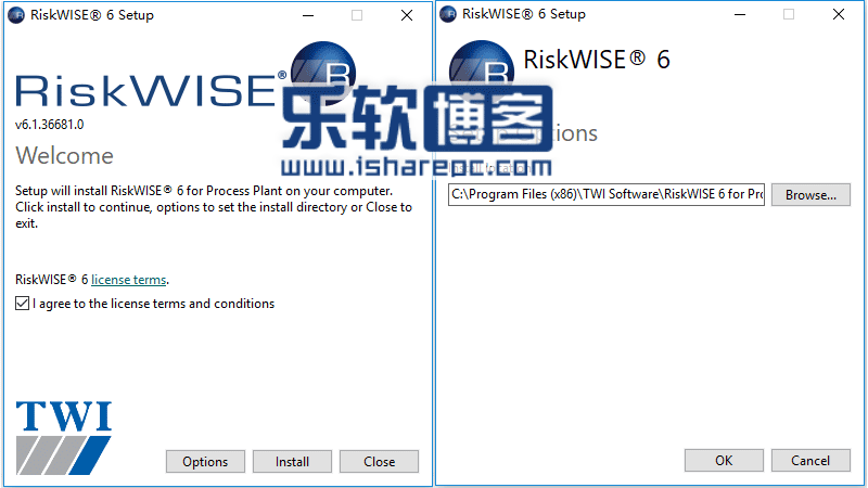 TWI RiskWise 6安装