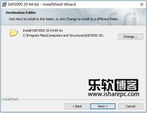 CSI SAP2000 v20.2.0安装