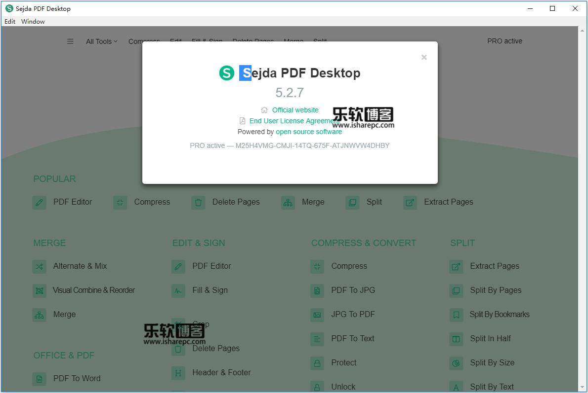 Sejda PDF Desktop Pro 5.2.7破解版