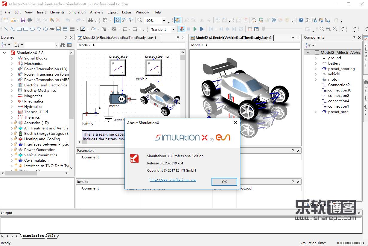 ESI ITI SimulationX 3.8.2