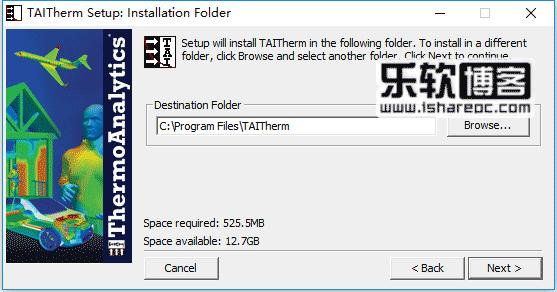 TAITherm 12.6.0安装