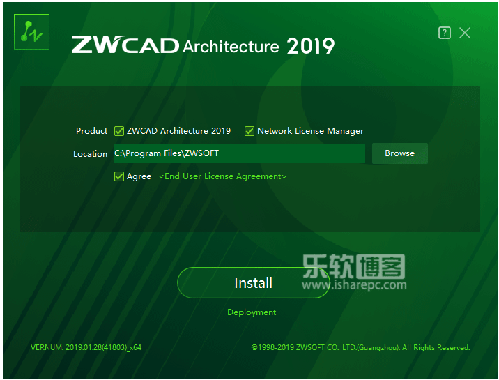 ZWCAD Architecture 2019 SP2