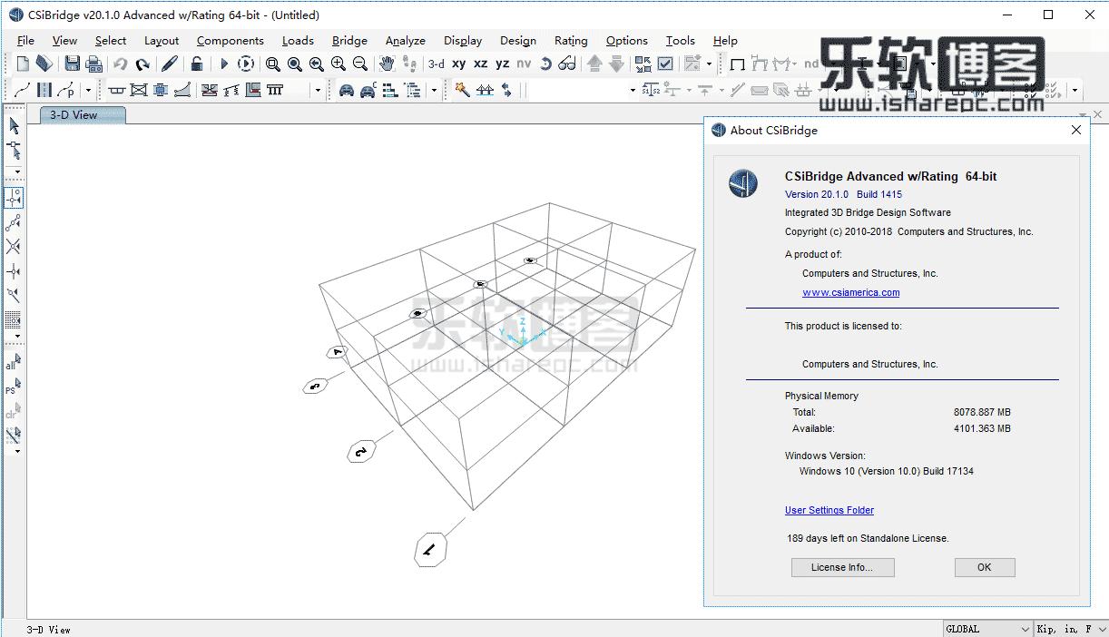CSiBridge Advanced w/Rating 20.1.0破解版