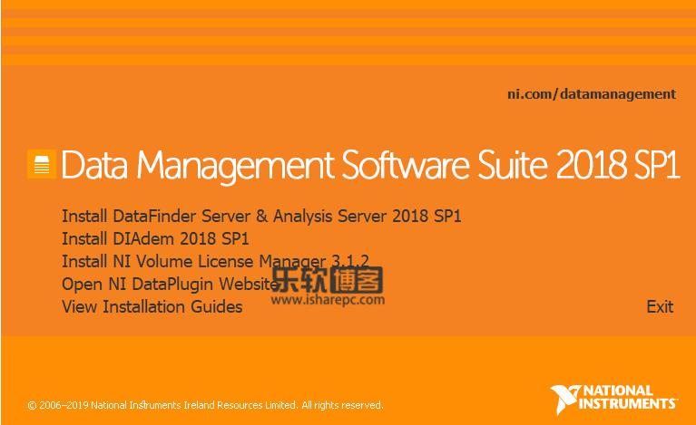 Data Management Software Suite 2018 SP1