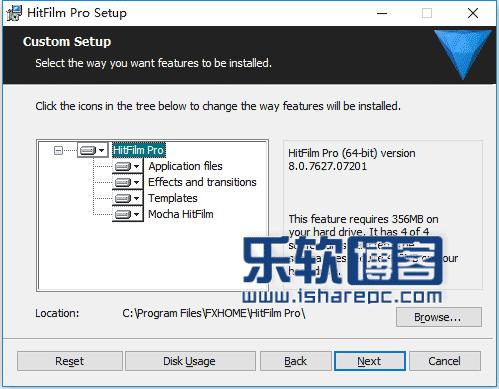 HitFilm Pro 8.0安装
