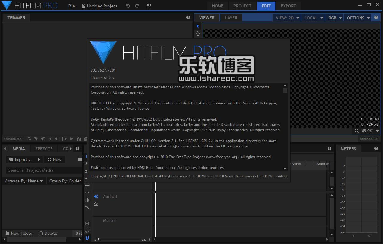 HitFilm Pro 8.0破解版