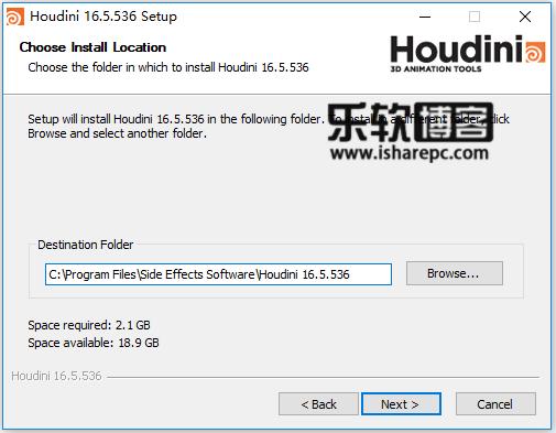 SideFX Houdini FX 16.5.536安装