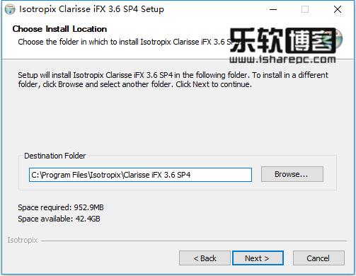 Isotropix Clarisse iFX 3.6 SP4破解版安装